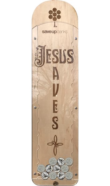 Jesus Saves Coin Bank